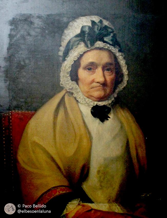 Retrato de Caroline Herschel