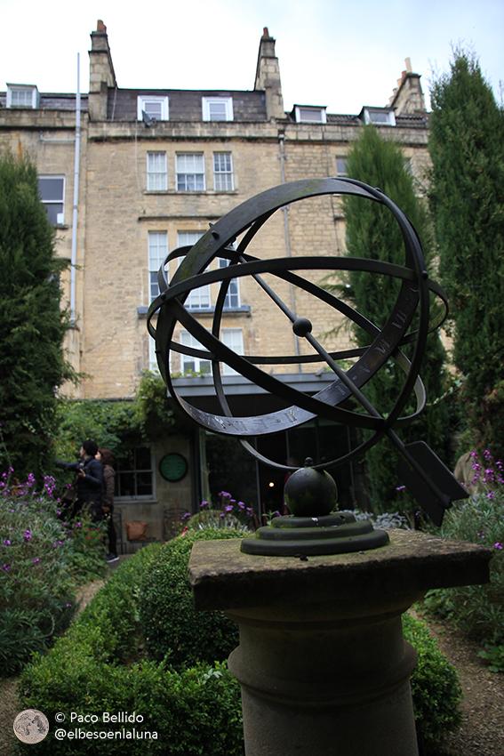 Jardín desde el que se descubrió el planeta Urano