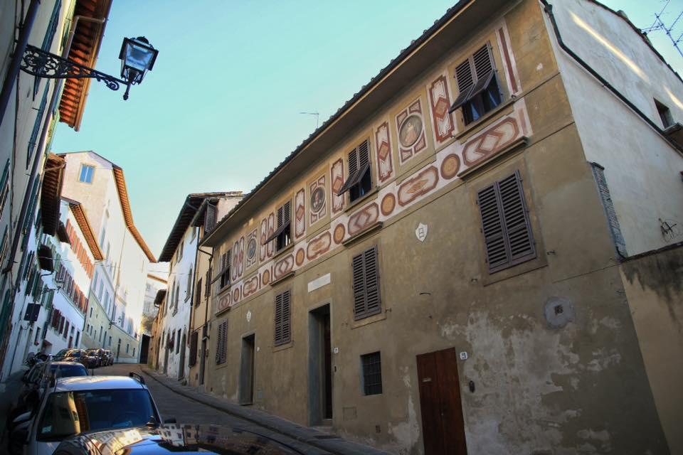 Casa de Galileo en Costa San Giorgio 19. Foto: © Paco Bellido