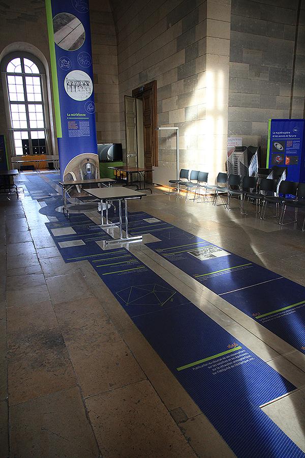 Sala de la Meridiana del Observatorio de París donde se realizó la primera demostración pública del péndulo. Foto: © Paco Bellido
