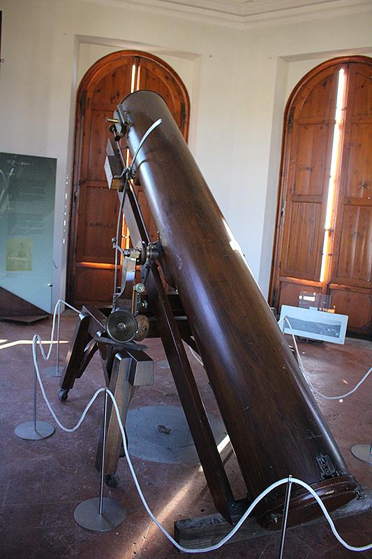 Vista posterior del reflector de Gonella. Foto: Lola Vázquez