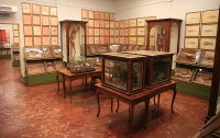 Una de las salas de ceras anatómicas del museo. Foto: Lola Vázquez
