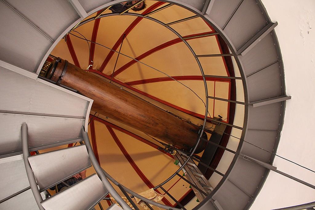 Telescopio histórico del observatorio Ximeniano. Foto: © Lola Vázquez