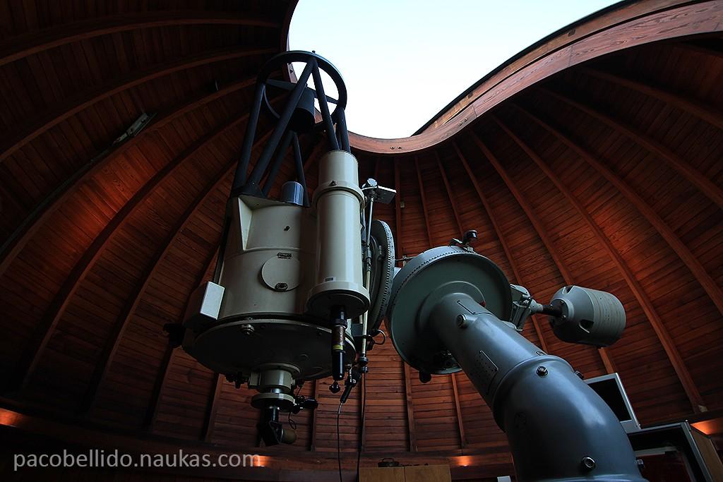 Telescopio Cassegrain del observatorio de Archenhold. Foto: © Lola Vázquez