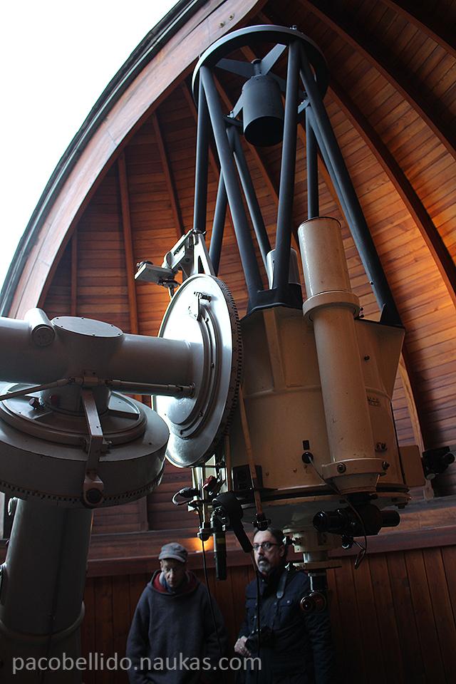 Otra vista del telescopio Cassegrain. Foto: © Lola Vázquez