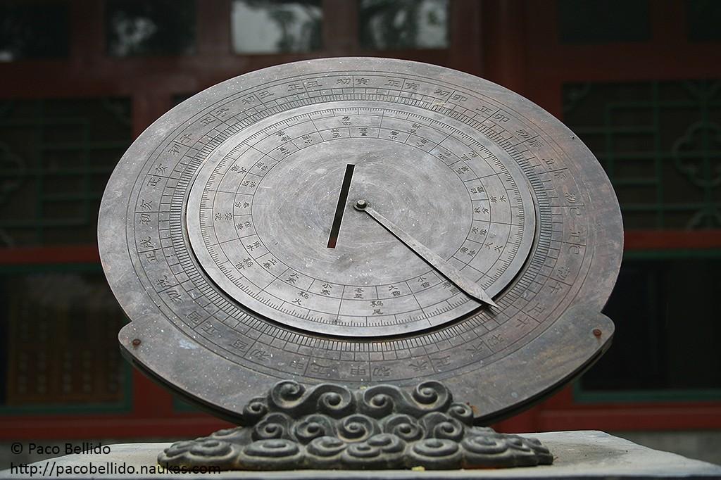Un instrumento para medir la posición de los astros. Foto: © Paco Bellido