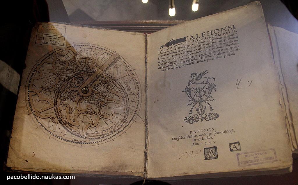 Tablas Astronómicas de Alfonso X el Sabio. Foto: © Paco Bellido