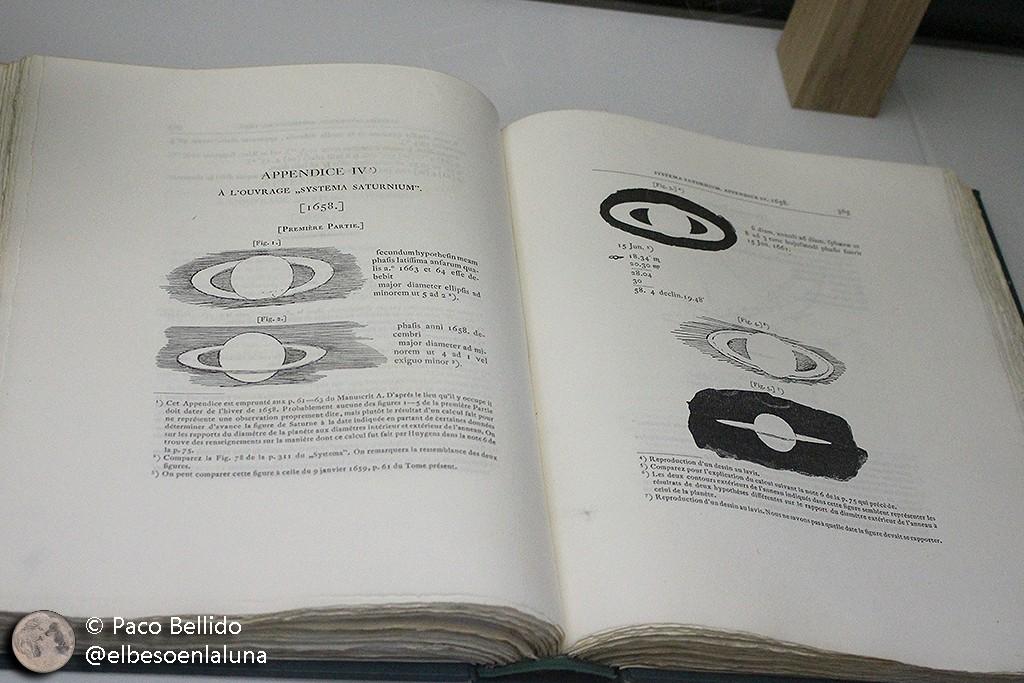 Systema Saturnium, la principal obra dedicada al planeta de los anillos. Foto: © Lola Vázquez