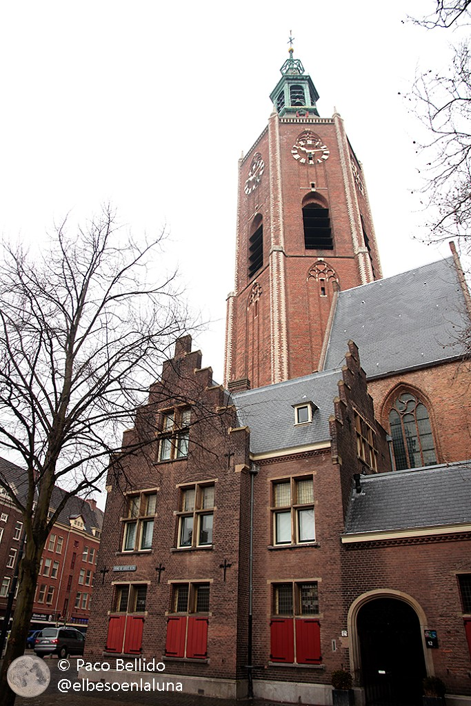 Grote Kerk de La Haya, donde están enterrados Constantjin Huygens y su hijo Christiaan. Foto: © Paco Bellido