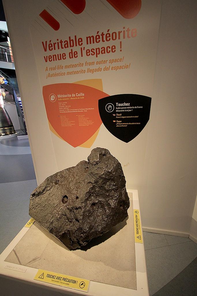 Meteorito Caille, descubierto en las montañas de Audibergue en 1630. Foto: © Lola Vázquez