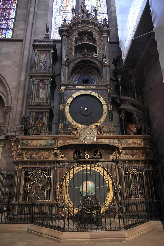 El reloj astronómico de Estrasburgo. Foto: © Lola Vázquez