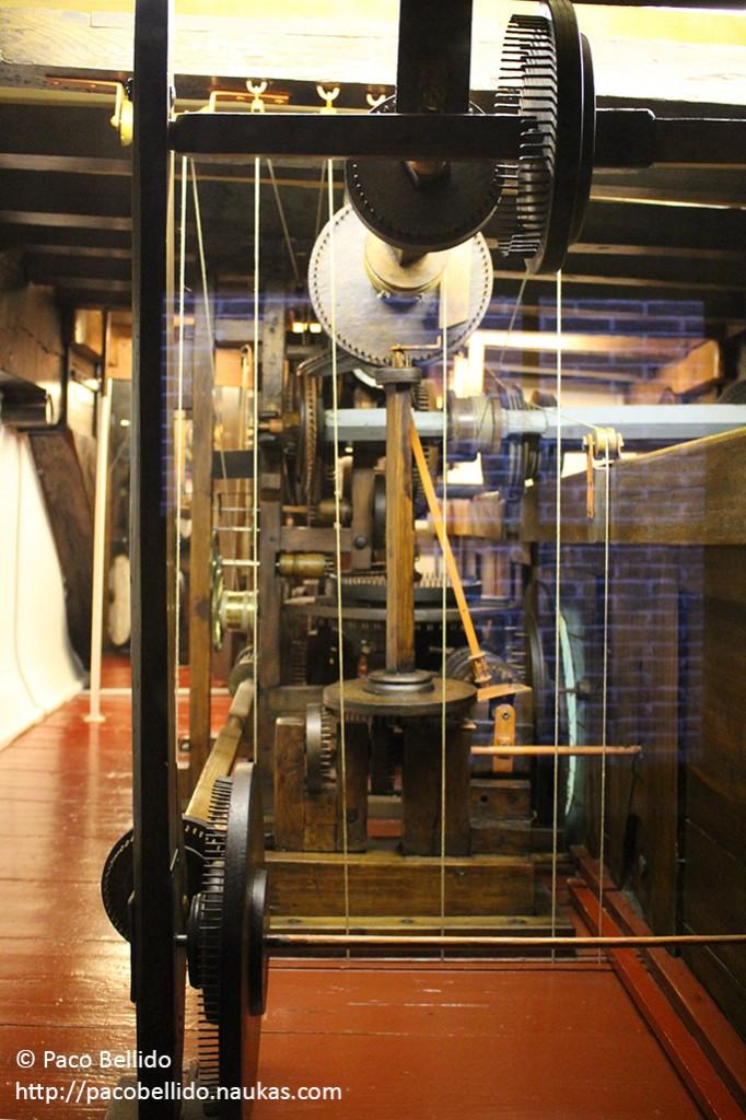 Detalle del mecanismo. Fotografía: © Lola Vázquez
