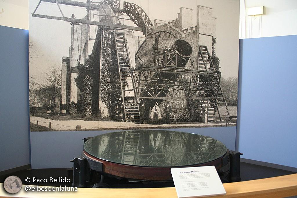 Uno de los espejos de Lord Rosse en el Science Museum de Londres. Foto: © Paco Bellido