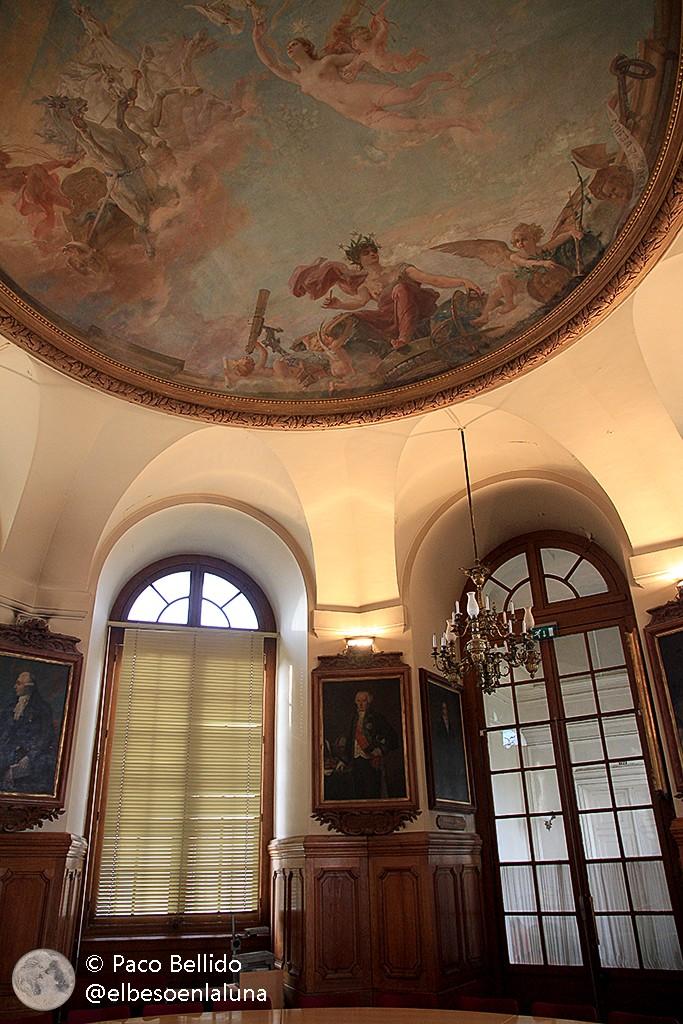 Sala del Consejo. Observatorio de París. Foto: © Paco Bellido