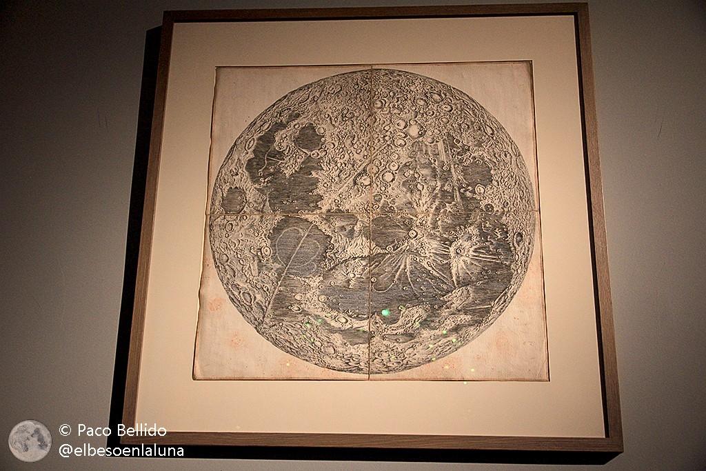 El mapa lunar de Cassini. Foto: © Paco Bellido