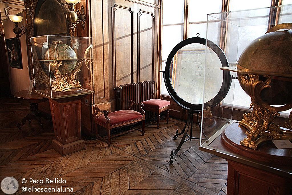 Sala museo del Observatorio de París. Foto: © Paco Bellido