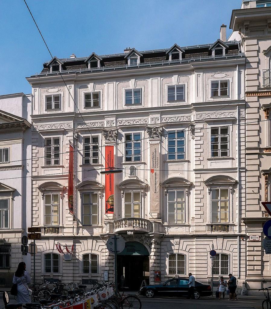 El Palacio Mollard de Viena, sede del Globenmuseum.