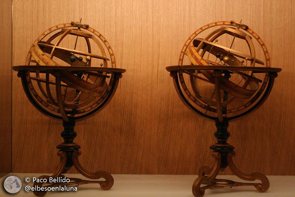 Esferas armilares de Andreas Spitzer. Foto: © Paco Bellido
