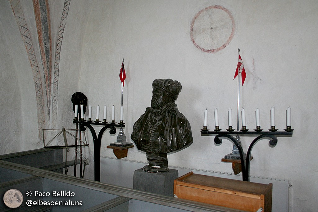 Busto de Tycho Brahe. Foto: Paco Bellido