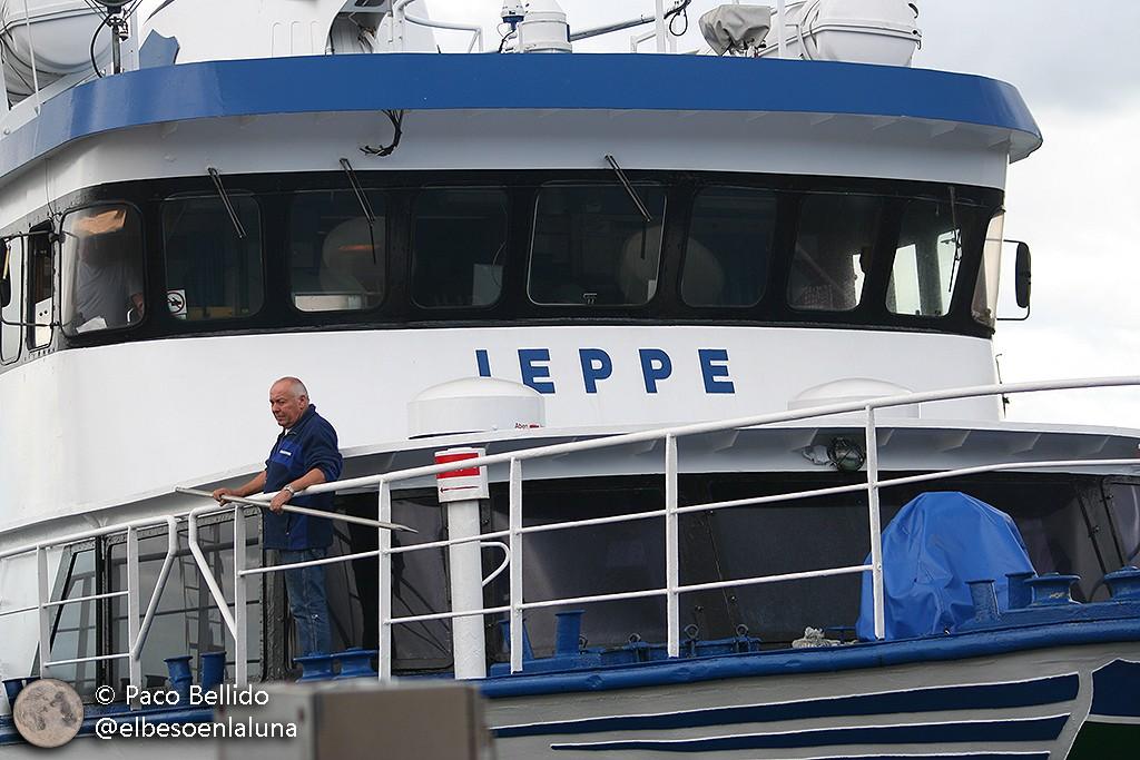 El barco Jeppe que comunica Copenhague con la isla de Ven. Foto: © Paco Bellido