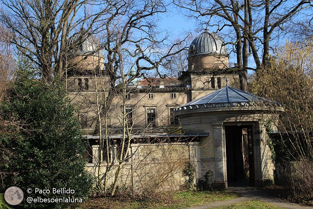 Cúpulas auxiliares del observatorio de Estrasburgo. Foto: Paco Bellido