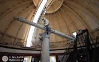Telescopio refractor del Observatorio de Estrasburgo. Foto: Paco Bellido