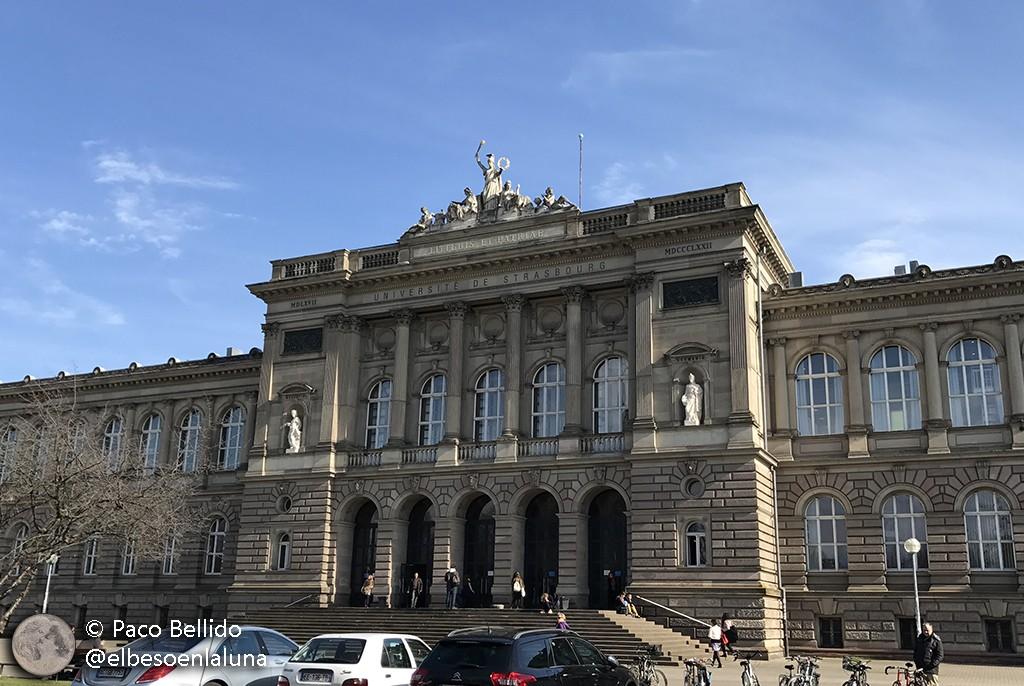 Universidad de Estrasburgo. Foto: Paco Bellido