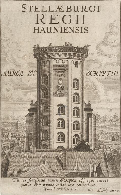 Stellaeburgi Regii Hauniensis aurea inscriptio. Crédito: Albertina (Viena)