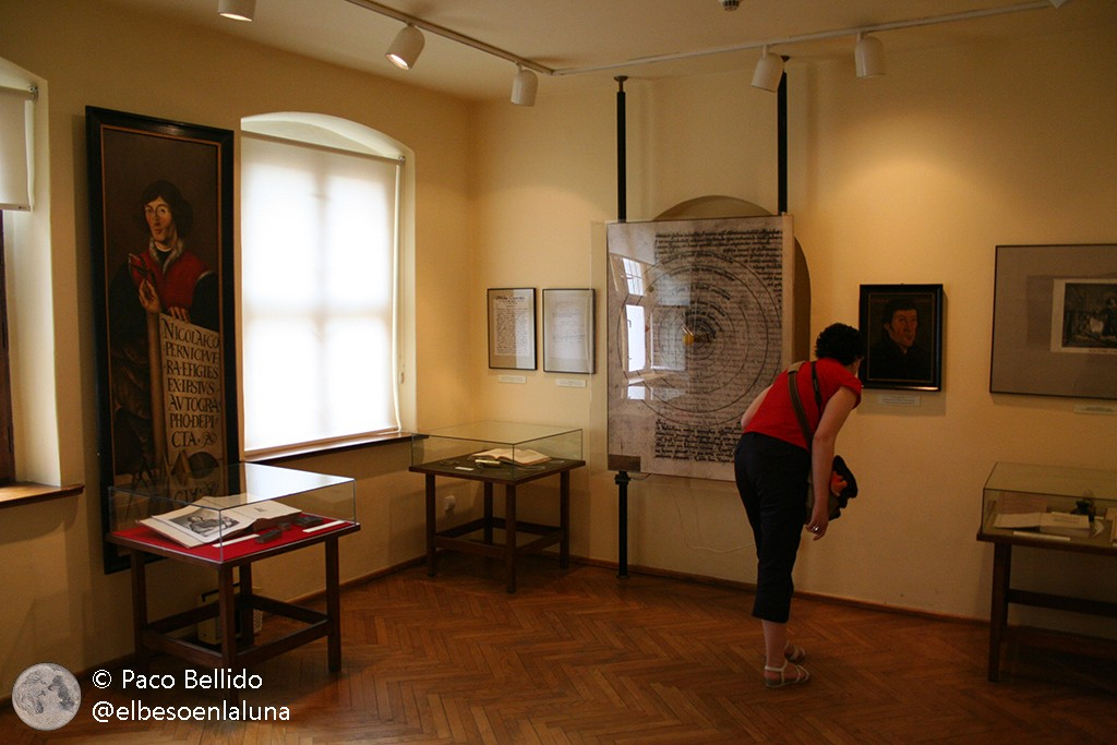 Exposición dedicada a Copérnico. Foto: © Paco Bellido