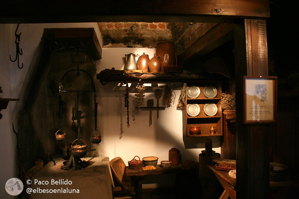 Detalle de la cocina. Foto: © Paco Bellido