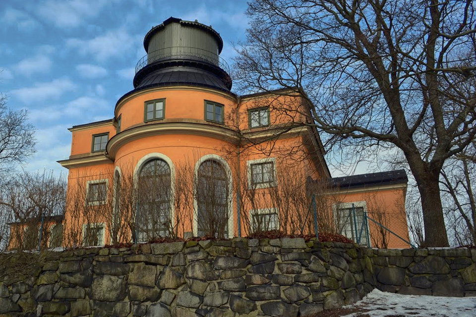 Vista exterior del Antiguo Observatorio de Estocolmo