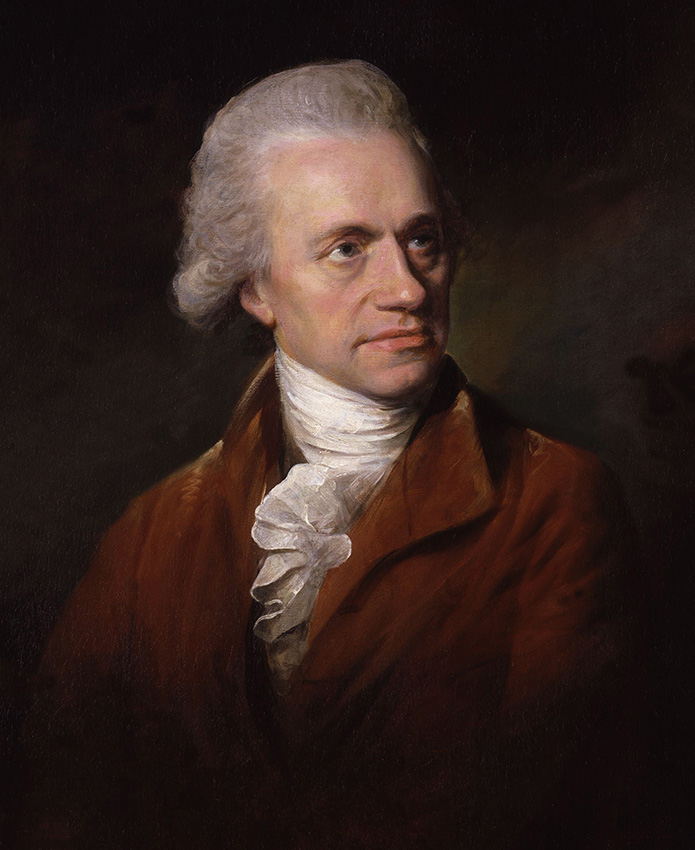 William Herschel retratado en 1785 por Lemuel Francis Abbott