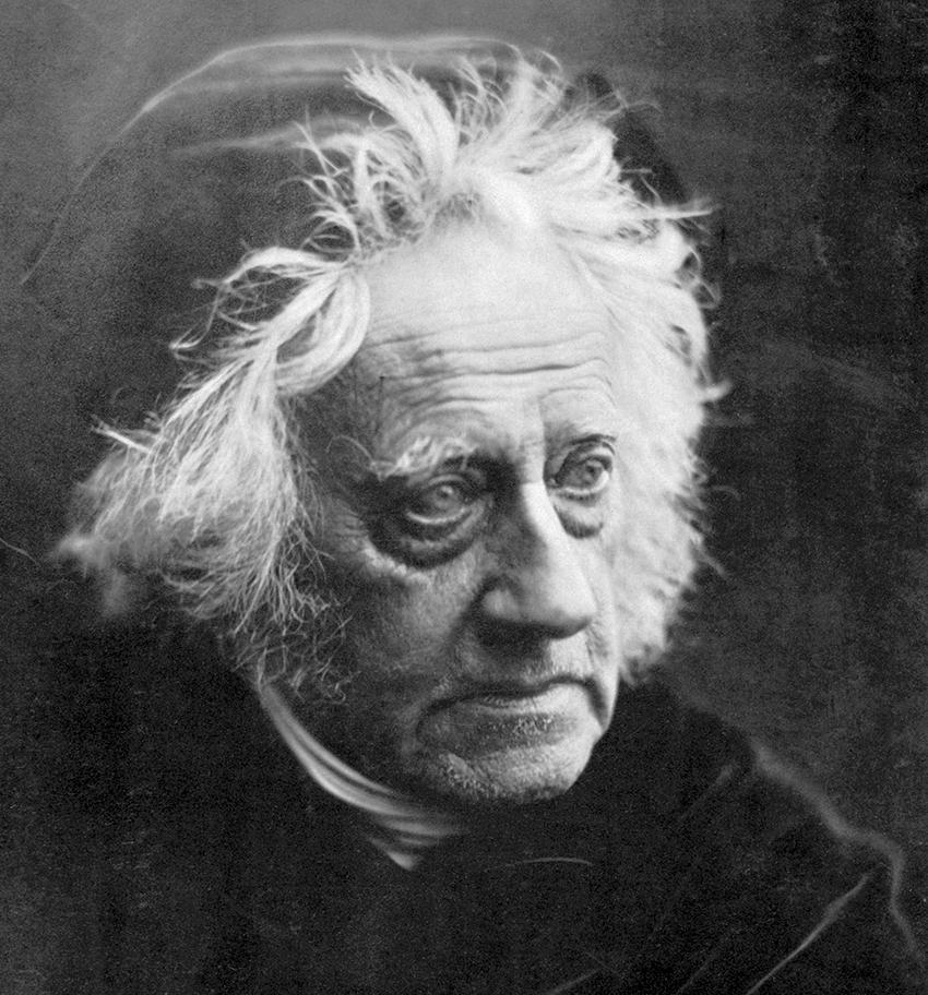 Retrato de John Herschel