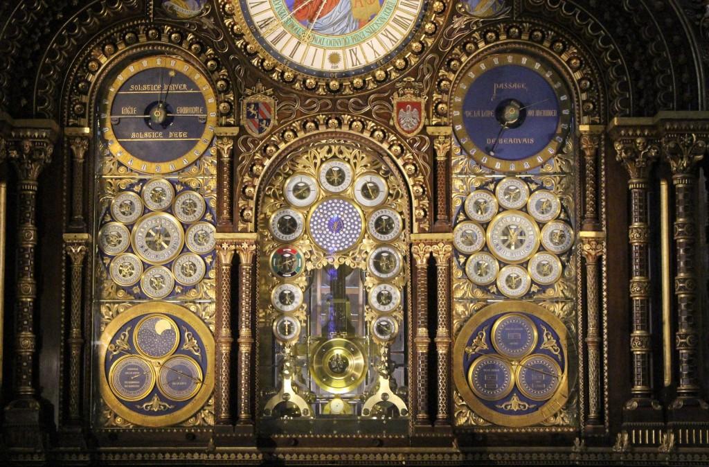 Esferas del reloj astronómico