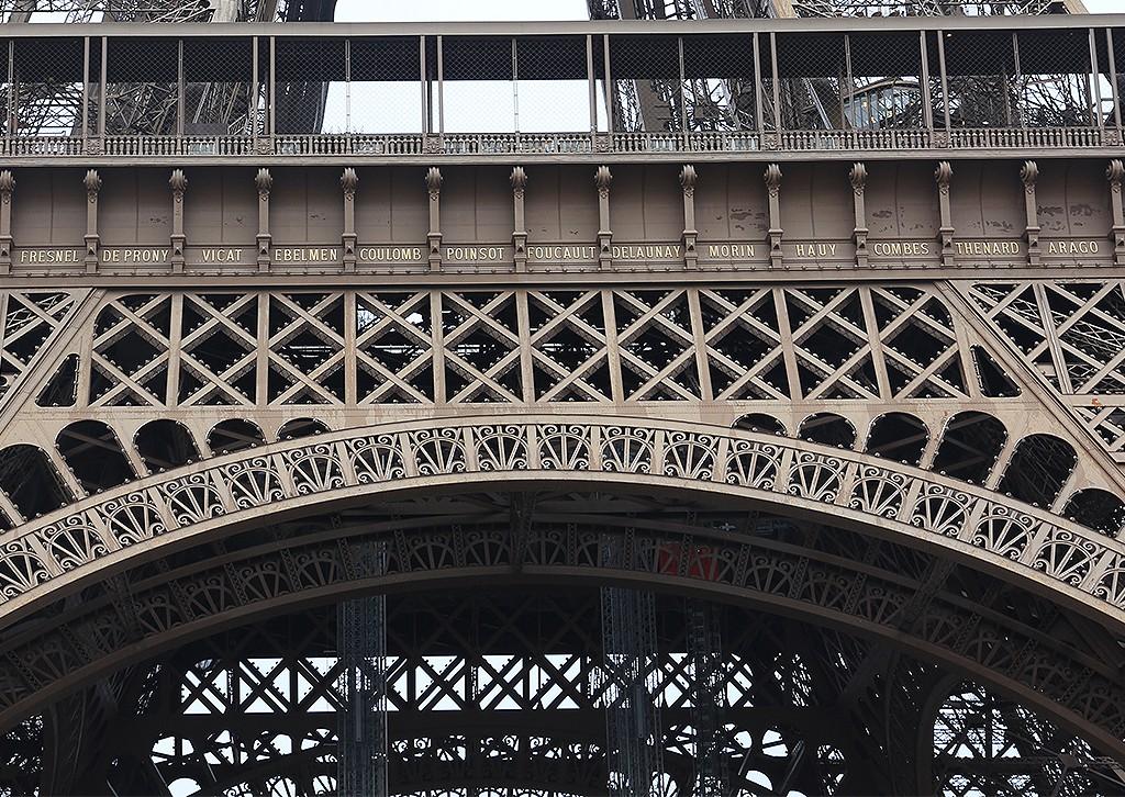 Homenaje a Foucault en la Tour Eiffel. Foto: © Paco Bellido
