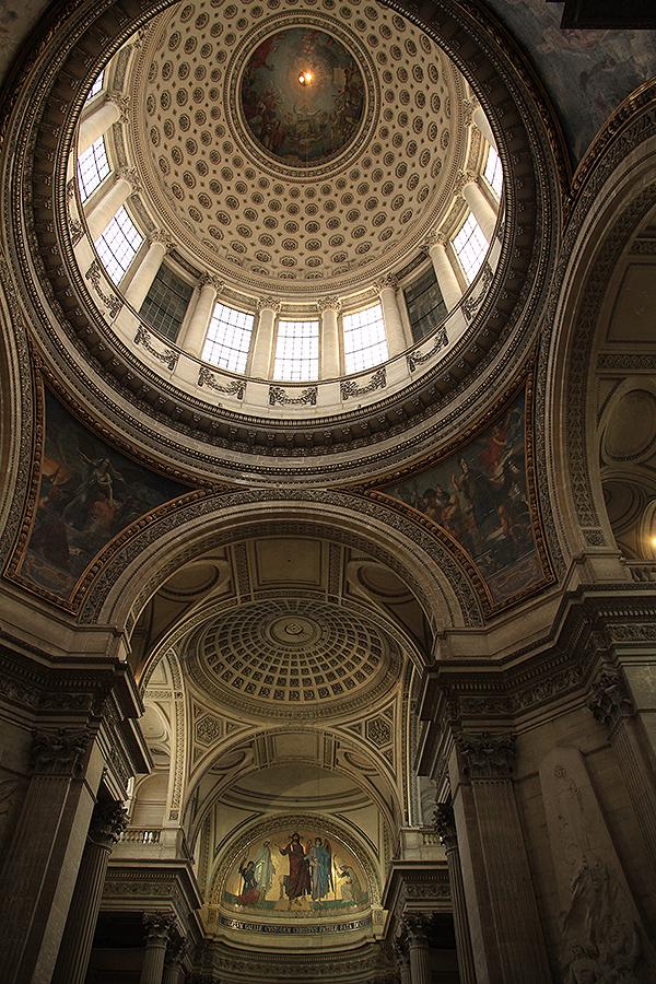 Detalle de la cúpula del Panteón. Foto: © Paco Bellido