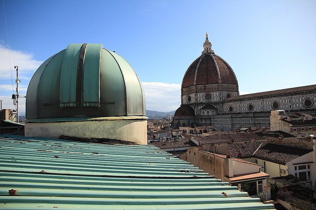 Vista de la cúpula de Brunelleschi desde el observatorio Ximeniano. Foto: © Lola Vázquez