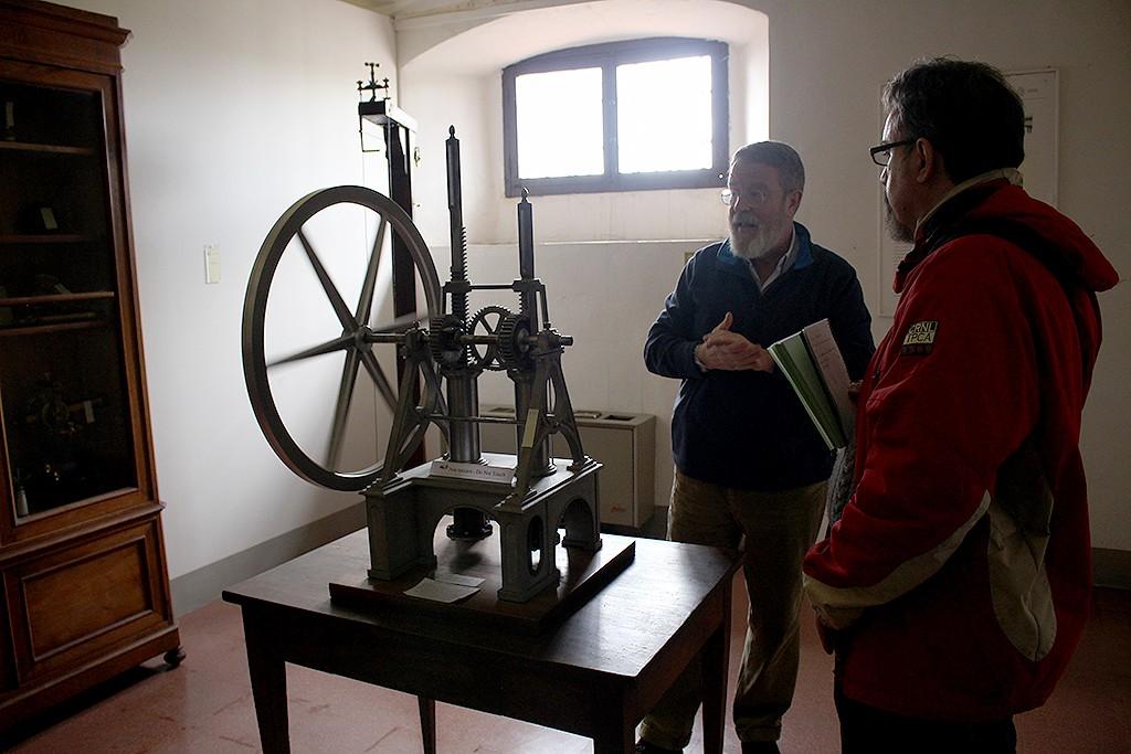Modelo del primer motor de combustión interna del mundo. Foto: © Lola Vázquez