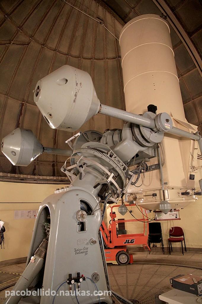Schmidt-Cassegrain de 1,2 metros fabricado por Zeiss. Foto: © Paco Bellido
