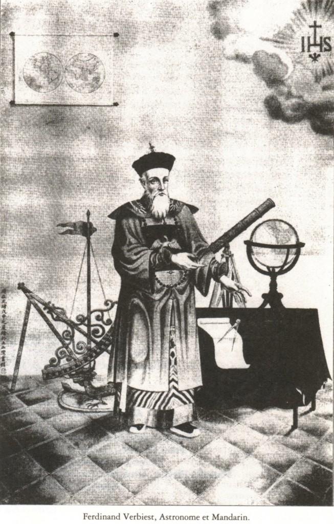 Ferdinand Verbiest, astrónomo y mandarín.