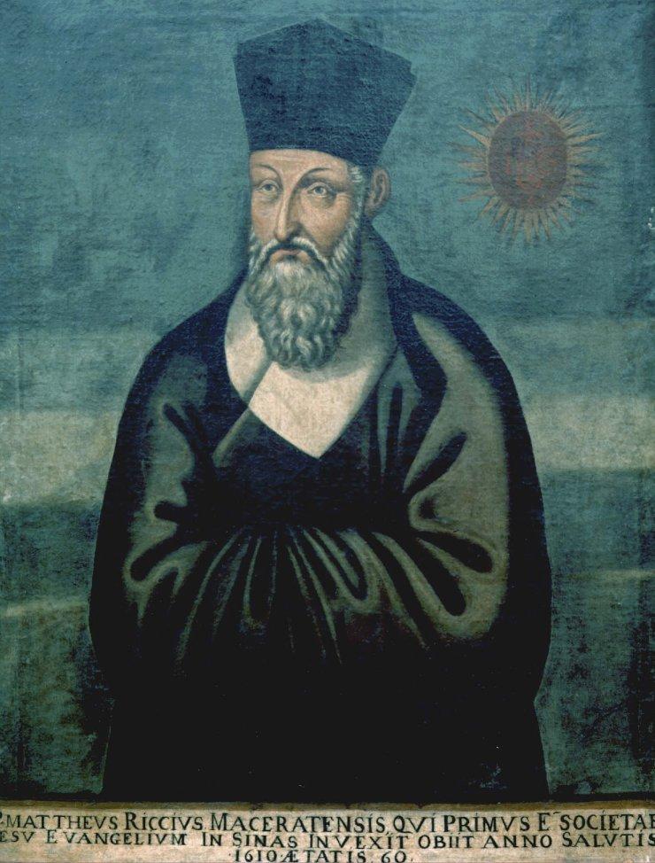 Retrato de Matteo Ricci. Crédito: Wikimedia Commons
