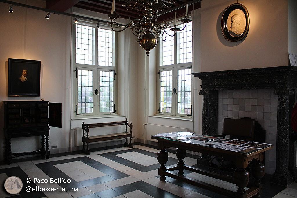 Sala principal de la casa. Foto: © Lola Vázquez