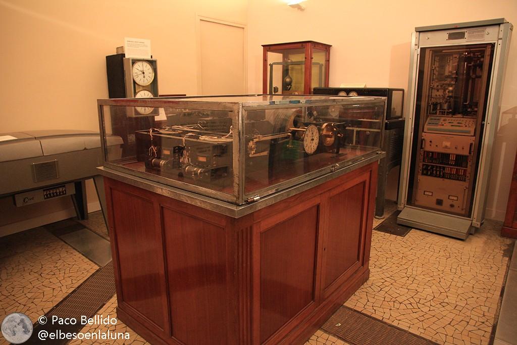 Un ejemplar de la colección de relojes parlantes del observatorio. Foto: © Paco Bellido