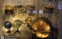 Globos del Globenmuseum de Viena