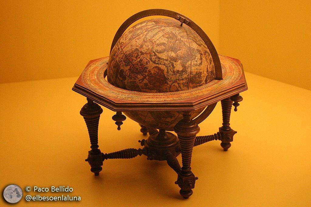 Globo celeste de Coronelli de 15 cm de diámetro. Foto: © Paco Bellido