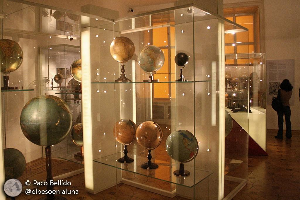 Globos del Globenmuseum de Viena. Foto: © Paco Bellido