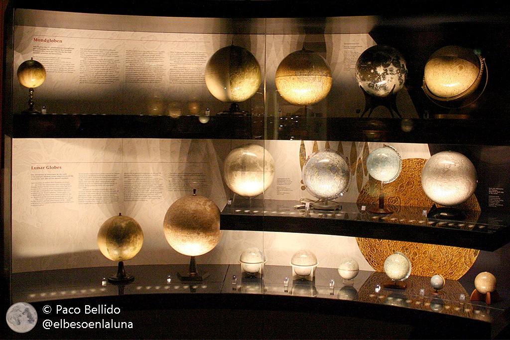 Colección de globos lunares. Foto: © Paco Bellido
