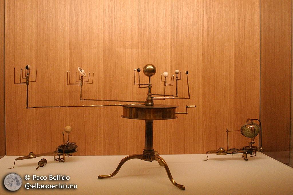 Planetario inglés de 1792 fabricado por la compañía Ebsworth. Foto: © Paco Bellido