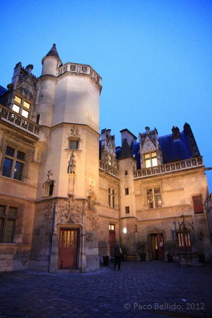 La torre del Hôtel de Cluny