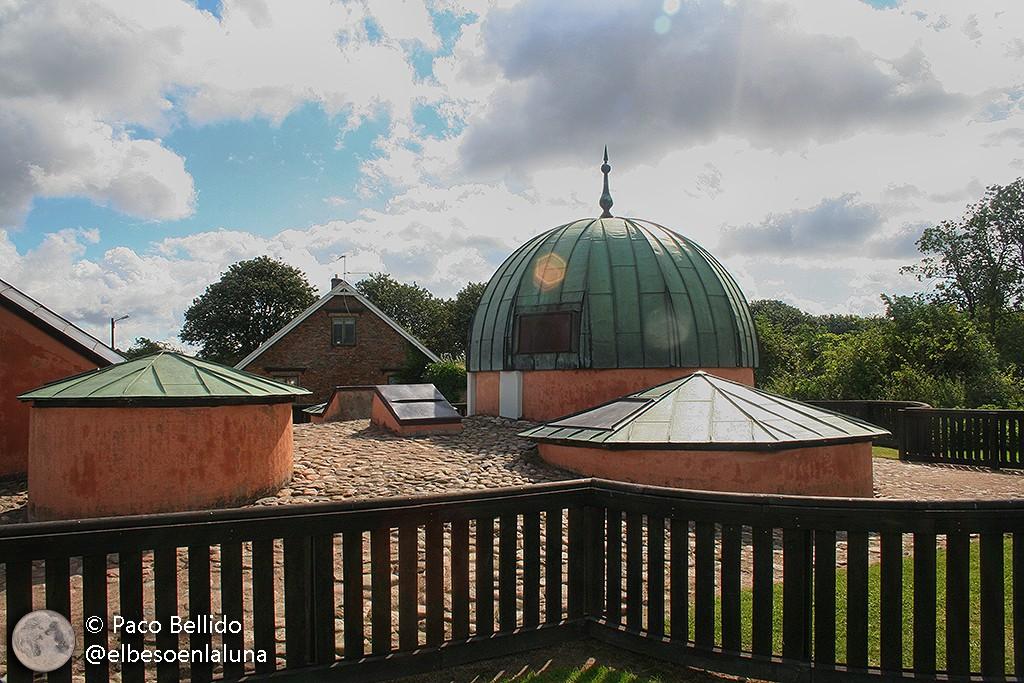Reconstrucción del observatorio. Foto: Paco Bellido